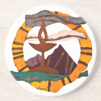 ユニテリアンのUniversalist聖餐杯のコースター コースター