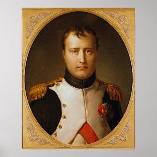 ユニフォームのナポレオンのポートレート ポスター