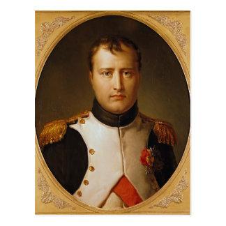 ユニフォームのナポレオンのポートレート ポストカード