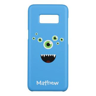 ユニークでおもしろいで熱狂するでかわいく青いモンスター Case-Mate SAMSUNG GALAXY S8ケース