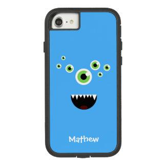 ユニークでおもしろいで熱狂するでかわいく青いモンスター Case-Mate TOUGH EXTREME iPhone 8/7ケース