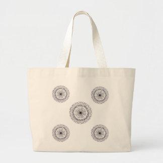 ユニークで再使用可能な買い物袋! ラージトートバッグ