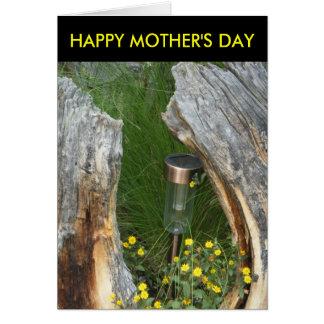 ユニークで幸せな母の日の花カード カード