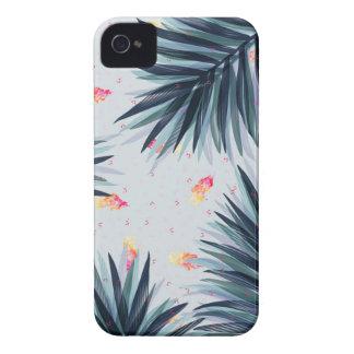 ユニークで敏感な熱帯葉パターン Case-Mate iPhone 4 ケース