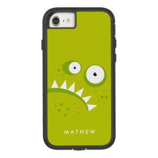 ユニークで気難しい怒っているおもしろいで恐い緑モンスター Case-Mate TOUGH EXTREME iPhone 8/7ケース