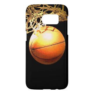 ユニークで特別なバスケットボールのiPhone 7のプラスの場合 Samsung Galaxy S7 ケース