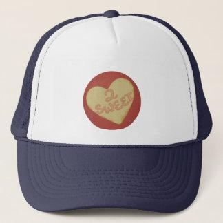 ユニークで赤いヴィンテージ愛。 2菓子のレトロのスタイルのハート キャップ