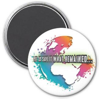 ユニークなアースデーの円形の磁石 マグネット