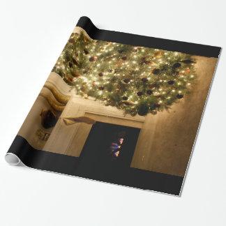 ユニークなクリスマスのプレゼントの覆い…. ラッピングペーパー