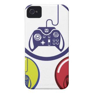 ユニークなゲームのコントローラーアイコンベクトル芸術 Case-Mate iPhone 4 ケース