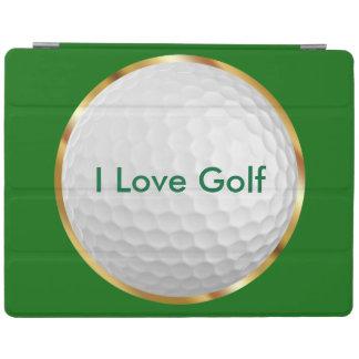 ユニークなゴルフテーマのiPadの場合 iPadスマートカバー