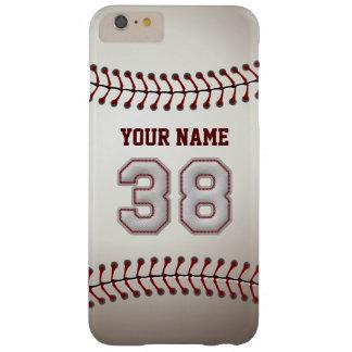ユニークなスタイリッシュな野球の第38名前をカスタムする- BARELY THERE iPhone 6 PLUS ケース