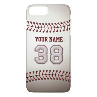 ユニークなスタイリッシュな野球の第38名前をカスタムする- iPhone 8 PLUS/7 PLUSケース