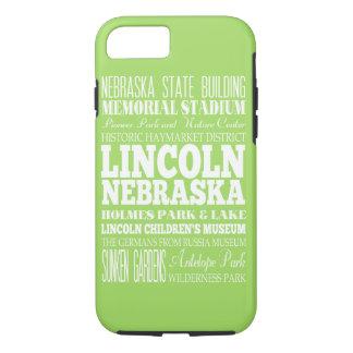 ユニークなリンカーン、ネブラスカのギフトのアイディア iPhone 8/7ケース