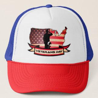 ユニークな復員軍人の日はトラック運転手の帽子に名誉を与えます キャップ