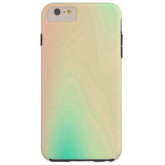 ユニークな珊瑚及びターコイズ贅沢で装飾的なパターン TOUGH iPhone 6 PLUS ケース