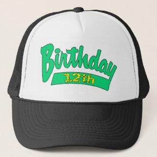ユニークな第12誕生日プレゼント キャップ