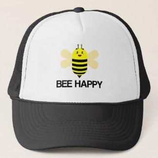 ユニークな蜂の幸せなぶんぶんうなること キャップ
