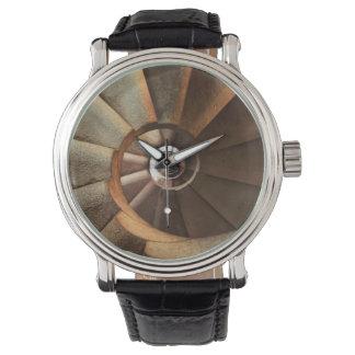 ユニークな螺線形の腕時計(男性版) 腕時計
