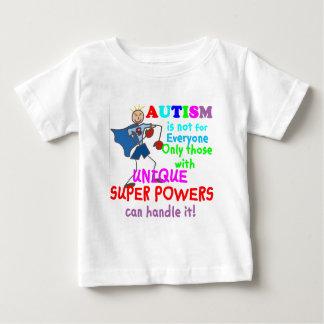 ユニークな軍事大国の自閉症 ベビーTシャツ