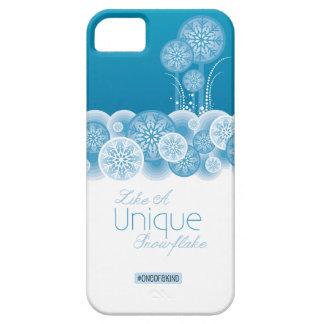 ユニークな雪片 iPhone SE/5/5s ケース