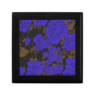 ユニークな青の抽象芸術のバラ ギフトボックス