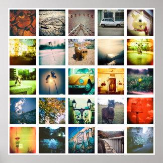 ユニークな、元のinstagramを作成して下さい ポスター