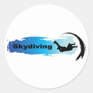 ユニークなSkydiving ラウンドシール