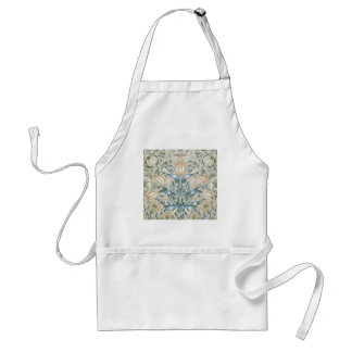 ユリおよびザクロのヴィンテージの花の芸術のデザイン スタンダードエプロン