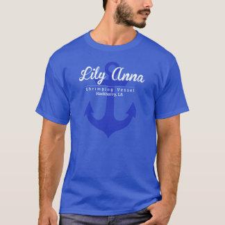 ユリのアナのボート Tシャツ