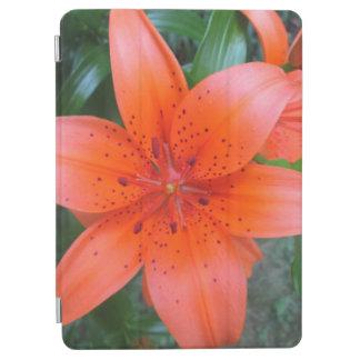 ユリのオレンジ斑入りの花 iPad AIR カバー