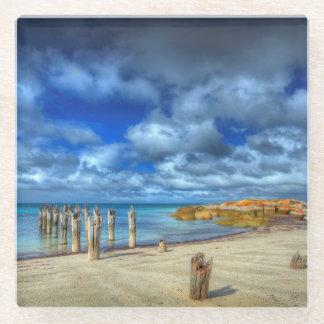ユリのビーチ| WybalenaのFlindersの島 ガラスコースター