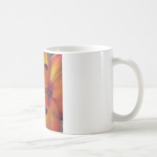 ユリのマクロ コーヒーマグカップ