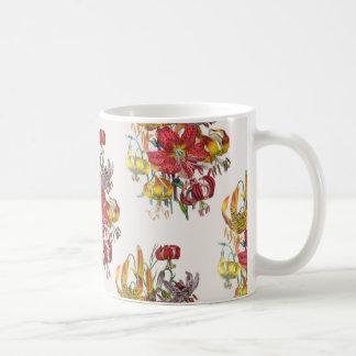 ユリのマグ コーヒーマグカップ