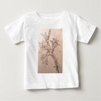 ユリの勉強 ベビーTシャツ