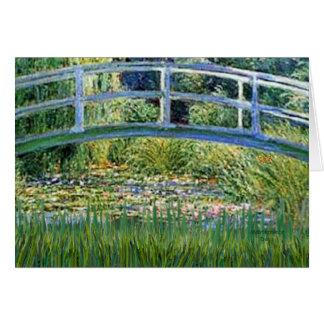 ユリの池橋-あなたのペットを加えて下さい カード