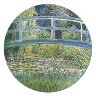 ユリの池橋-あなたのペットを加えて下さい プレート