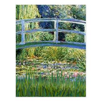 ユリの池橋-あなたのペットを加えて下さい ポストカード