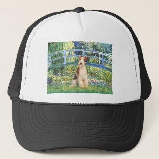 ユリの池橋-ワイヤーフォックステリア犬3 キャップ