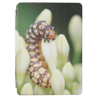 ユリの穴あけ器の蝶の幼虫の幼虫 iPad AIR カバー