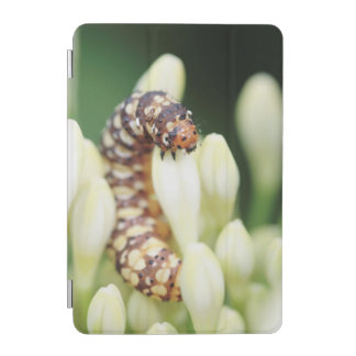 ユリの穴あけ器の蝶の幼虫の幼虫 iPad MINIカバー