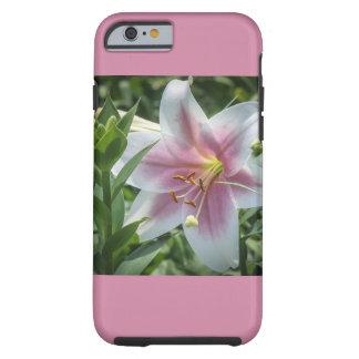 ユリの花のiPhoneの場合 ケース
