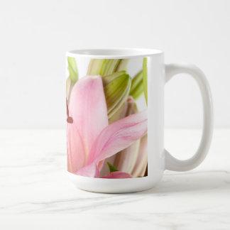 ユリの花 コーヒーマグカップ