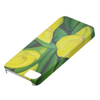 ユリの電話カバー iPhone SE/5/5s ケース
