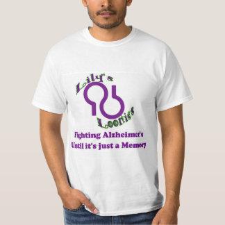 ユリのLoonies Alzheimerのチームワイシャツ Tシャツ