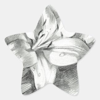 ユリ2 星シール