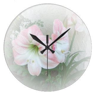 ユリ3の時計 ラージ壁時計