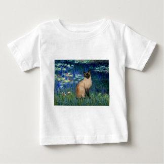 ユリ5 -シールポイントシャム猫 ベビーTシャツ