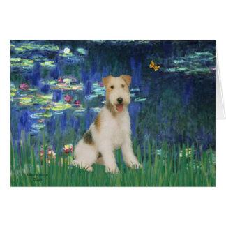 ユリ5 -ワイヤーフォックステリア犬#1 カード