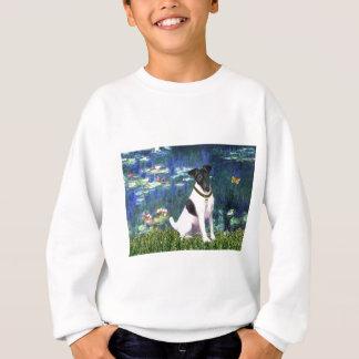 ユリ5 -滑らかなフォックステリア犬 スウェットシャツ